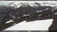 Archiv Foto Webcam Mittelstation Alpe di Lusia Moena 08:00