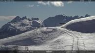 """Archiv Foto Webcam Fassatal - Moena - Ankunft des Sessellifts """"Campo de Cune"""" 06:00"""