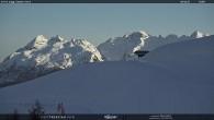 """Archiv Foto Webcam Fassatal - Moena - Ankunft des Sessellifts """"Campo de Cune"""" 12:00"""