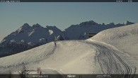 """Archiv Foto Webcam Fassatal - Moena - Ankunft des Sessellifts """"Campo de Cune"""" 02:00"""