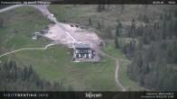 """Archiv Foto Webcam Fassatal - San Pelegrino - Panorama der Skipisten und Aufstiegsanlagen des """"San Pellegrino Pass"""" 10:00"""