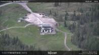 """Archiv Foto Webcam Fassatal - San Pelegrino - Panorama der Skipisten und Aufstiegsanlagen des """"San Pellegrino Pass"""" 12:00"""
