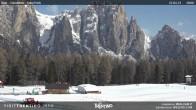 Archiv Foto Webcam Vigo di Fassa - Kinderpark 04:00