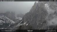 Archiv Foto Webcam Fassatal - Vajolet-Türme 02:00