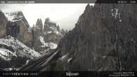 Archiv Foto Webcam Fassatal - Vajolet-Türme 12:00