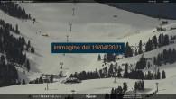 Archiv Foto Webcam Val di Fiemme - Obereggen Sessellift 00:00