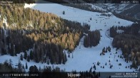 Archiv Foto Webcam Piavac-Piste, Skigebiet Alpe Lusia im Fassatal 02:00