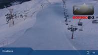 Archived image Webcam Top Station Cima Bianca - Bormio 11:00