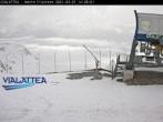 Archiv Foto Webcam Vialattea - Sestriere - Monte Fraiteve 08:00