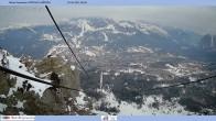 Archived image Webcam Cortina d'Ampezzo: Mountain hut Faloria 02:00