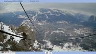 Archived image Webcam Cortina d'Ampezzo: Mountain hut Faloria 04:00
