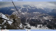 Archived image Webcam Cortina d'Ampezzo: Mountain hut Faloria 08:00