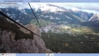 Archiv Foto Webcam Cortina d'Ampezzo: Ausblick Berghütte Faloria 04:00