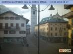 Archiv Foto Webcam Fußgängerzone: Cortina d'Ampezzo 02:00