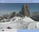Archiv Foto Webcam Cortina d'Ampezzo: Berghütte Scoiattoli 06:00