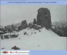 Archiv Foto Webcam Cortina d'Ampezzo: Berghütte Scoiattoli 08:00