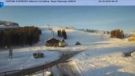 Archiv Foto Webcam Cortina d'Ampezzo: Sessellift Falzarego 02:00