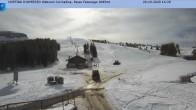 Archiv Foto Webcam Cortina d'Ampezzo: Sessellift Falzarego 08:00