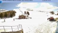 Archiv Foto Webcam Cortina d'Ampezzo: Sessellift Falzarego 10:00