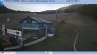 Archiv Foto Webcam Cortina d'Ampezzo: Talstation Roncato Sessellift 02:00