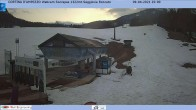 Archived image Webcam Cortina d'Ampezzo: Base station chairlift Roncato 00:00