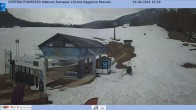 Archived image Webcam Cortina d'Ampezzo: Base station chairlift Roncato 04:00