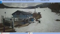 Archived image Webcam Cortina d'Ampezzo: Base station chairlift Roncato 06:00