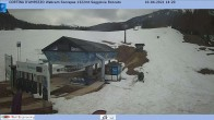 Archived image Webcam Cortina d'Ampezzo: Base station chairlift Roncato 08:00