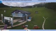 Archiv Foto Webcam Cortina d'Ampezzo: Talstation Roncato Sessellift 04:00