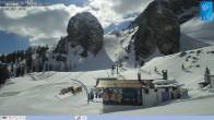 Archiv Foto Webcam Cortina d'Ampezzo: Weltcup-Piste Olympia delle Tofana 10:00