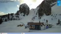 Archiv Foto Webcam Cortina d'Ampezzo: Weltcup-Piste Olympia delle Tofana 12:00
