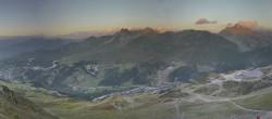 Archived image Webcam Meribel Valley from La Tougnete 14:00