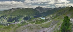 Archived image Webcam Meribel Valley from La Tougnete 06:00