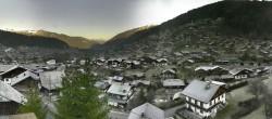 Archiv Foto Webcam Panoramablick über Morzine 02:00