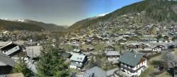 Archiv Foto Webcam Panoramablick über Morzine 06:00