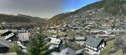 Archiv Foto Webcam Panoramablick über Morzine 08:00