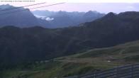 Archiv Foto Webcam Valisera Berg Sicht auf Nova Stoba 05:00