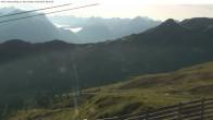 Archiv Foto Webcam Valisera Berg Sicht auf Nova Stoba 07:00