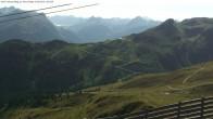 Archiv Foto Webcam Valisera Berg Sicht auf Nova Stoba 09:00