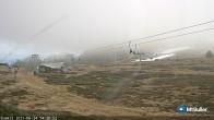 Archiv Foto Webcam Mt Buller: Lift Summit 08:00