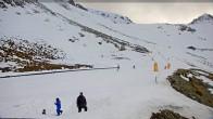 Archiv Foto Webcam Ohau Snowfields: Snow Mat Piste 10:00