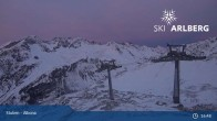 Archiv Foto Webcam Stuben - Albona (Ski Arlberg) 21:00