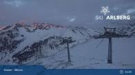 Archived image Webcam Stuben: Albona (Ski Arlberg) 19:00