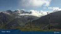 Archiv Foto Webcam Stuben - Albona (Ski Arlberg) 03:00
