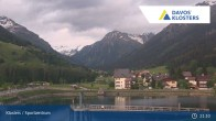 Archived image Webcam Sport center Klosters 21:00