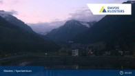 Archived image Webcam Sport center Klosters 23:00