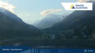 Archived image Webcam Sport center Klosters 01:00