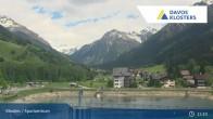 Archived image Webcam Sport center Klosters 09:00