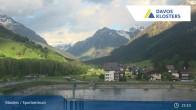 Archived image Webcam Sport center Klosters 13:00