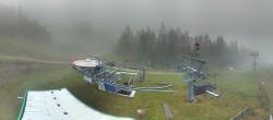 Archiv Foto Webcam Brunnalm: Bergstation Sesselbahn 02:00